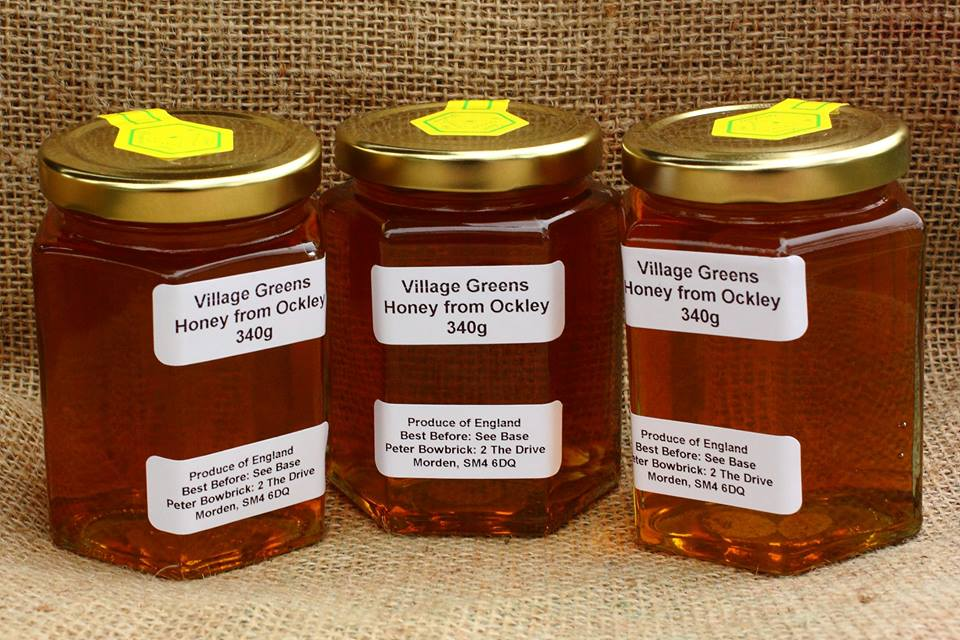 Honey From Our Own Beehives
