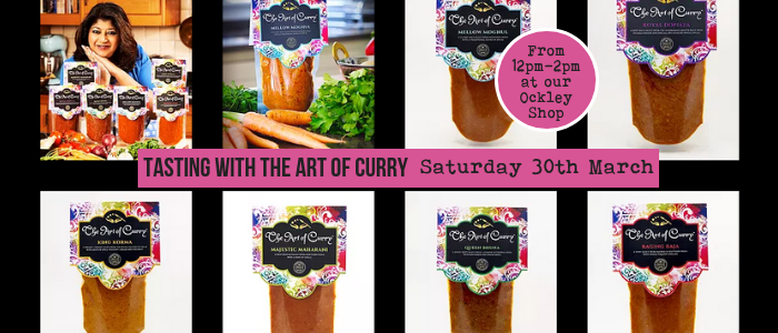 Art of Curry at Village Greens Ockley - Tasting Event @ Village Greens OCKLEY