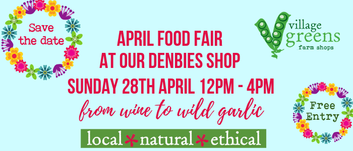 April Food Fair at Village Greens Denbies @ Village Greens Denbies