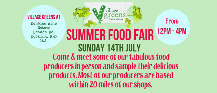 Food Fair at Village Greens Denbies @ Village Greens Denbies